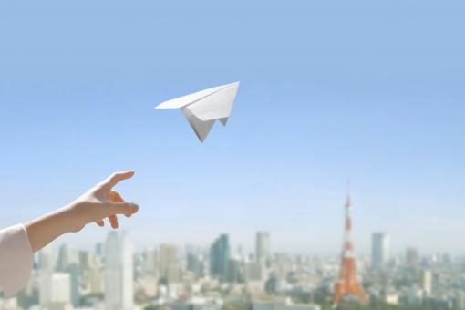 紙飛行機,空