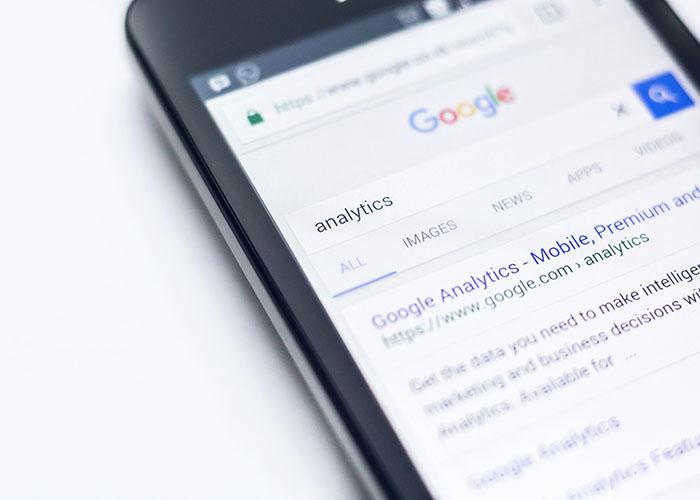 スマートフォンでのGoogle検索
