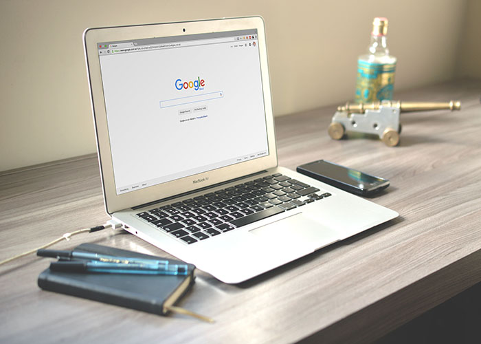 パソコンでGoogle検索