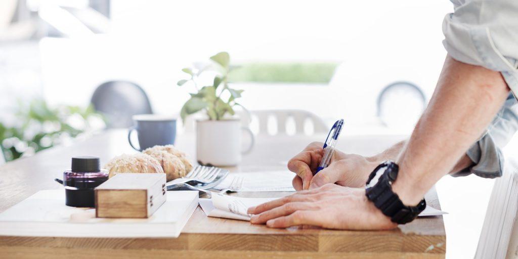 おすすめは企画書を作成すること